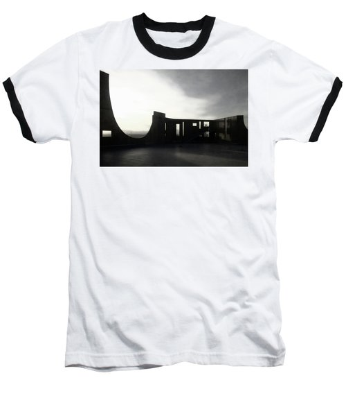 Baseball T-Shirt featuring the photograph Denver Art Museum Ponti 2 by Marilyn Hunt