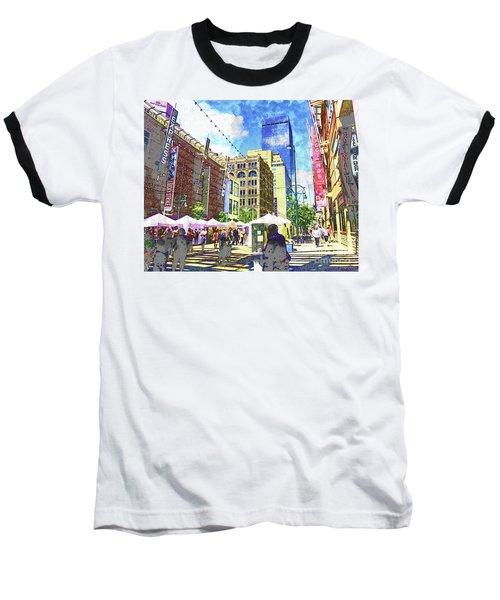 Denver Art Walk Baseball T-Shirt