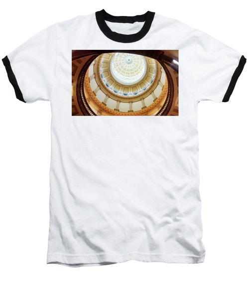 Baseball T-Shirt featuring the photograph Denver Capitol Dome 1 by Marilyn Hunt
