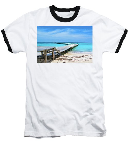 Departure Point Soft Baseball T-Shirt