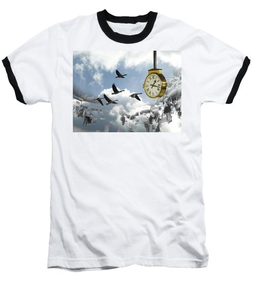 Departures Baseball T-Shirt