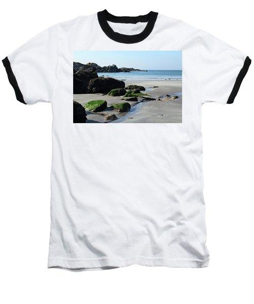 Derrynane Beach Baseball T-Shirt by Marie Leslie