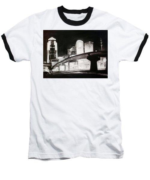 Des Moines Skyline #10 Baseball T-Shirt
