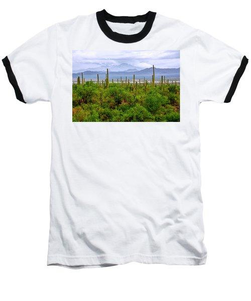 Desert Green Baseball T-Shirt