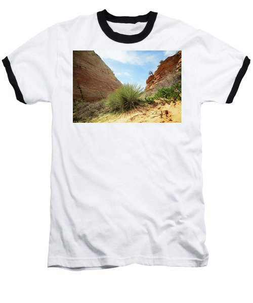 Desert Greenery Baseball T-Shirt
