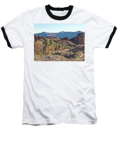 Baseball T-Shirt featuring the photograph Desert Palms by Frank DiMarco
