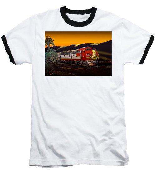 Desert Palms Baseball T-Shirt by J Griff Griffin