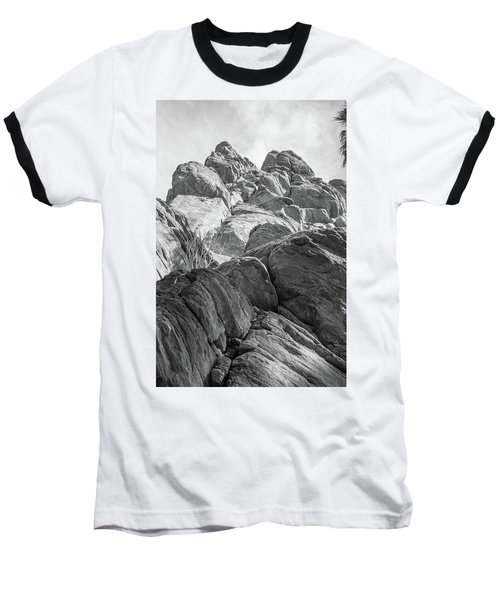 Baseball T-Shirt featuring the photograph Desert Rock Formation by Frank DiMarco