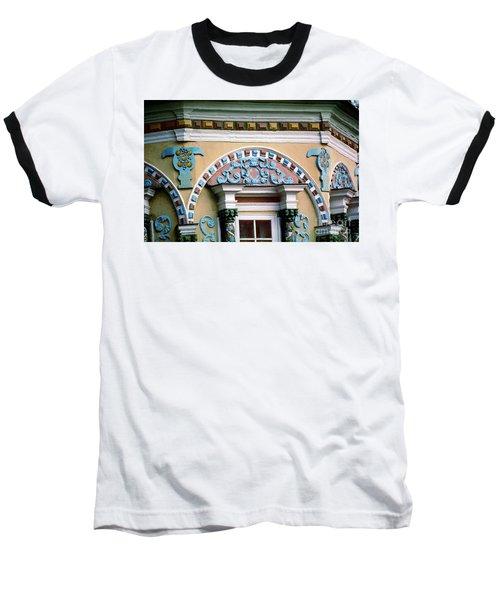 Detail Of Trinity Lavra Of St. Sergius Monastery Sergiev Posad Baseball T-Shirt by Wernher Krutein