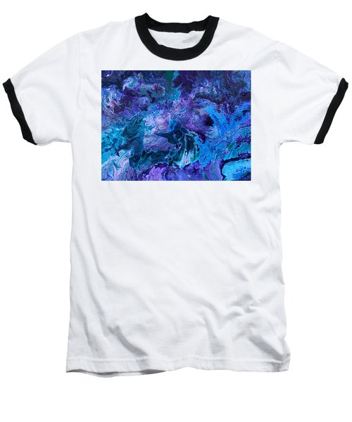 Detail Of Waves 5 Baseball T-Shirt
