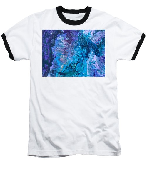 Detail Of Waves 6 Baseball T-Shirt
