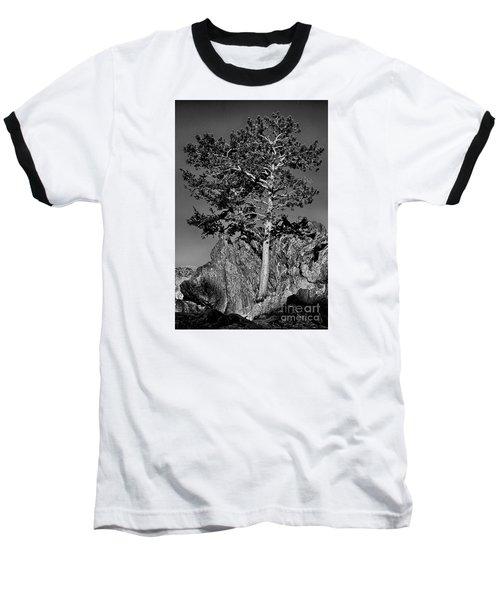 Determined, Monochrome Baseball T-Shirt