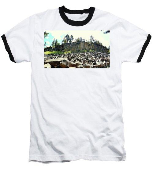 Devils Postpile Wide Baseball T-Shirt