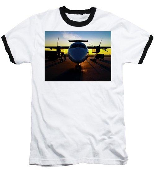 Dhc-8-300 Refueling Baseball T-Shirt