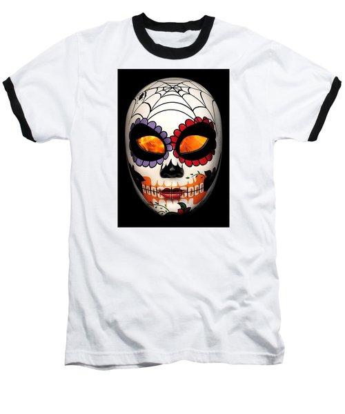 Dia De Los Muertos Baseball T-Shirt
