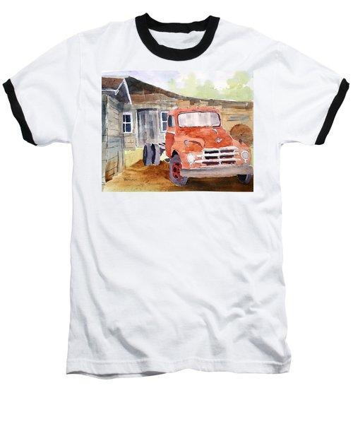 Diamond In The Rough Baseball T-Shirt by Larry Hamilton