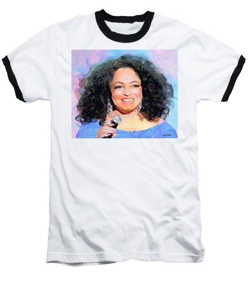 Diana Ross Baseball T-Shirt