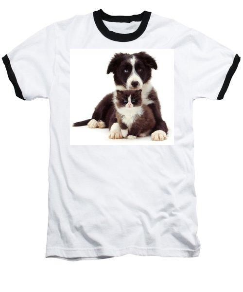 Different Strokes - Same Love Baseball T-Shirt