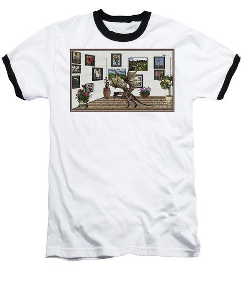 Digital Exhibition _ Dragon Baseball T-Shirt by Pemaro