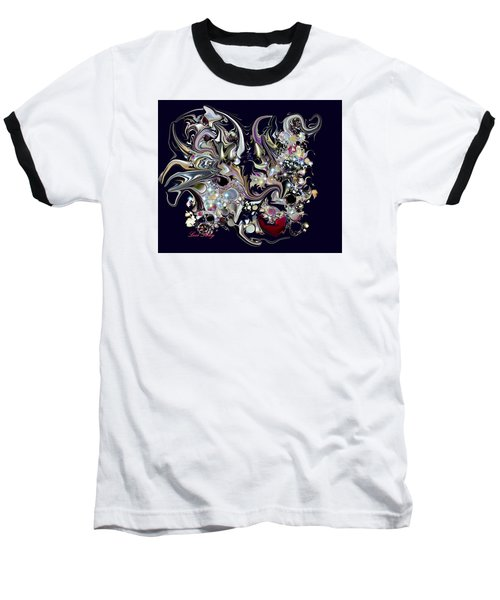 Digitalimage2012c Baseball T-Shirt by Loxi Sibley