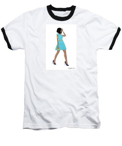 Baseball T-Shirt featuring the digital art Dima by Nancy Levan