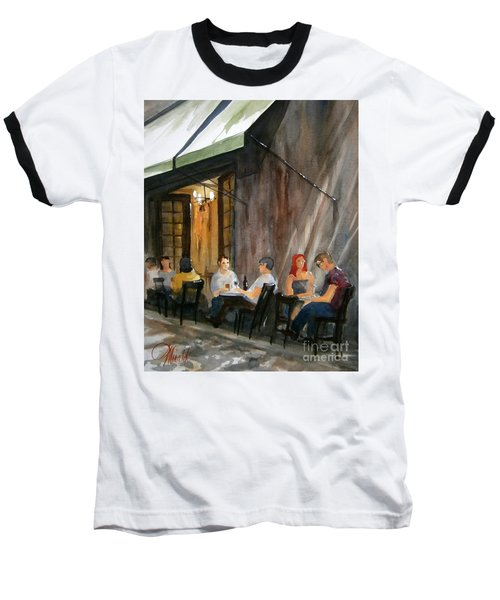 Dinning L'fresco Baseball T-Shirt