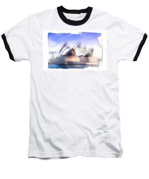 Baseball T-Shirt featuring the photograph Do-00109 Opera House by Digital Oil
