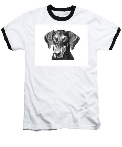 Doberman Baseball T-Shirt