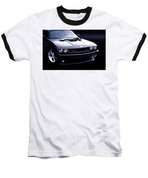 Dodge Challenger Blackbird Sr-71 Baseball T-Shirt
