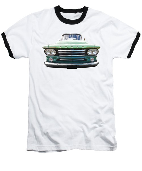 Dodge D100 Sweptside 1958 Baseball T-Shirt