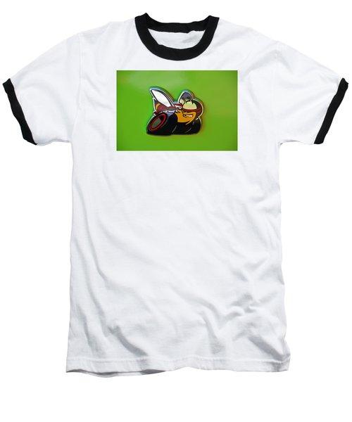 Dodge Scat Pack Badge Baseball T-Shirt