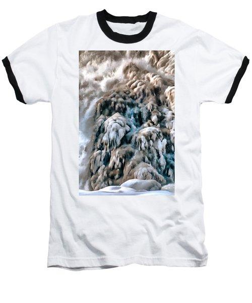 Dog Falls Baseball T-Shirt