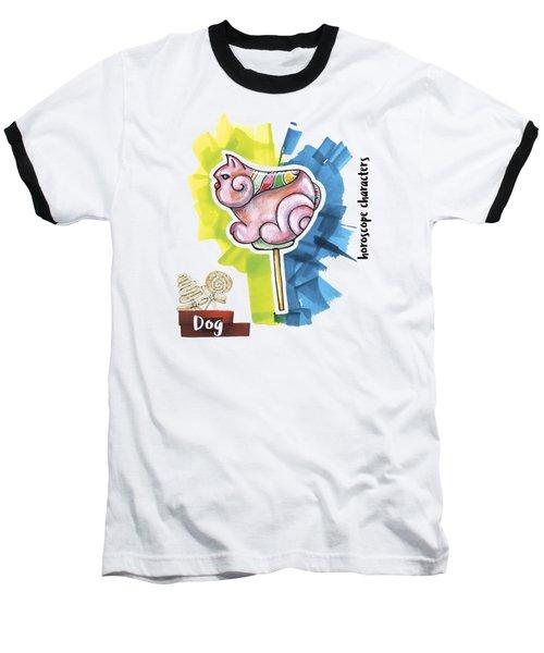 Dog Horoscope Baseball T-Shirt