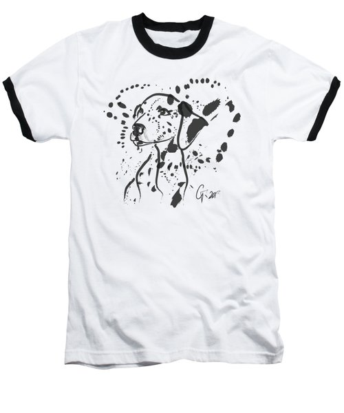 Dog Spot Baseball T-Shirt