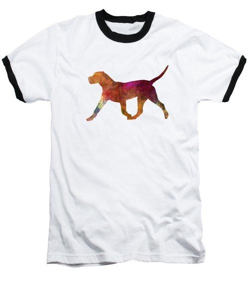 Dogo Canario In Watercolor Baseball T-Shirt