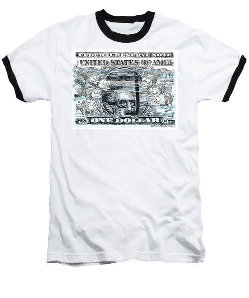 Dollar Submerged Baseball T-Shirt