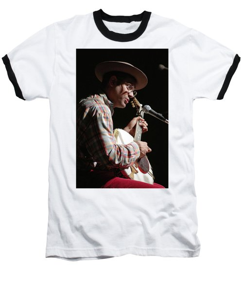 Baseball T-Shirt featuring the photograph Dom Flemons by Jim Mathis