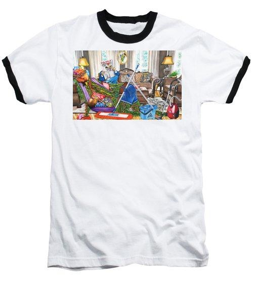 Domestic Abuse Baseball T-Shirt