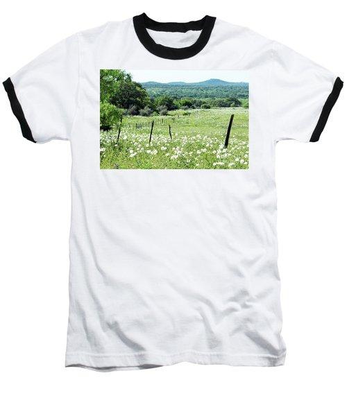 Baseball T-Shirt featuring the photograph Done In White by Joe Jake Pratt
