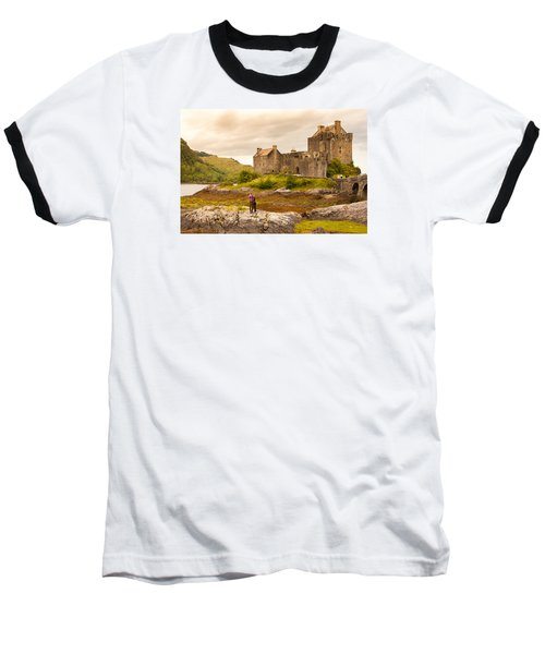 Donan Castle Baseball T-Shirt