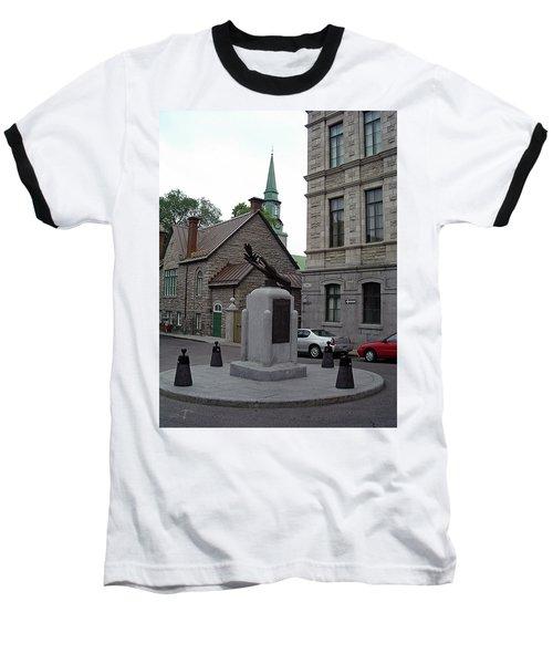 Baseball T-Shirt featuring the photograph Donnacona And Du Parloir by John Schneider
