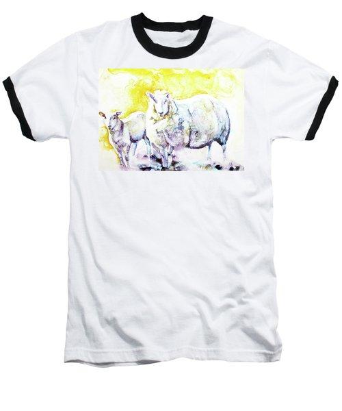 Don't Mess With My Lamb Baseball T-Shirt