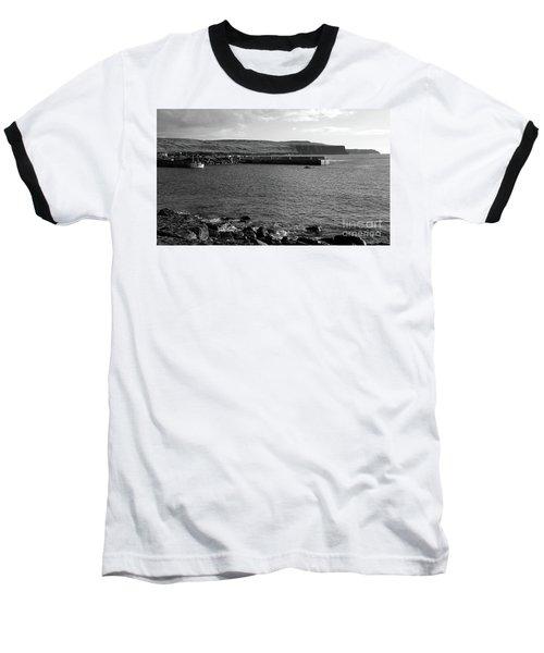 Doolin Harbour Baseball T-Shirt