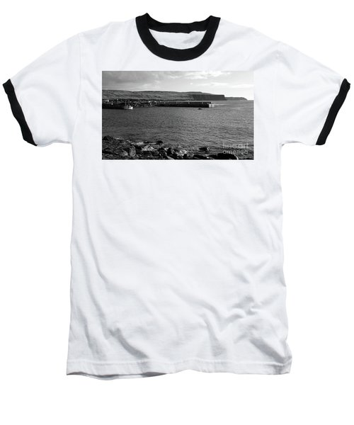 Doolin Harbour Baseball T-Shirt