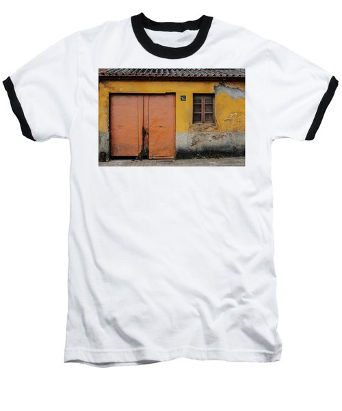 Baseball T-Shirt featuring the photograph Door No 162 by Marco Oliveira