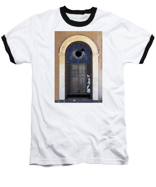Door With A Hole Baseball T-Shirt