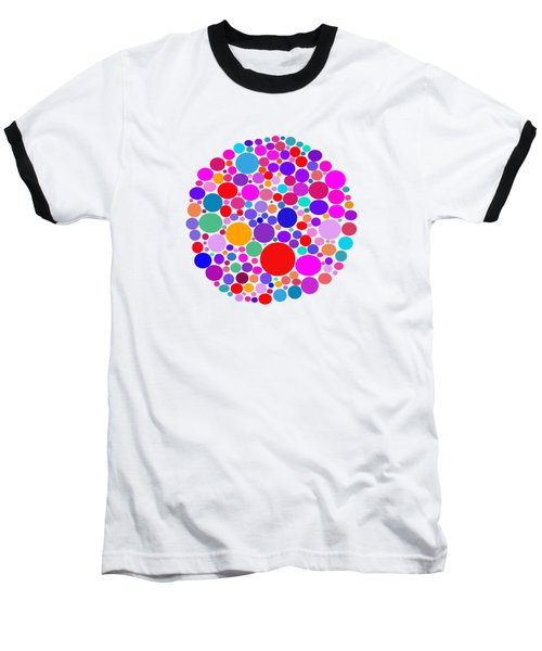 Dots 03 Baseball T-Shirt