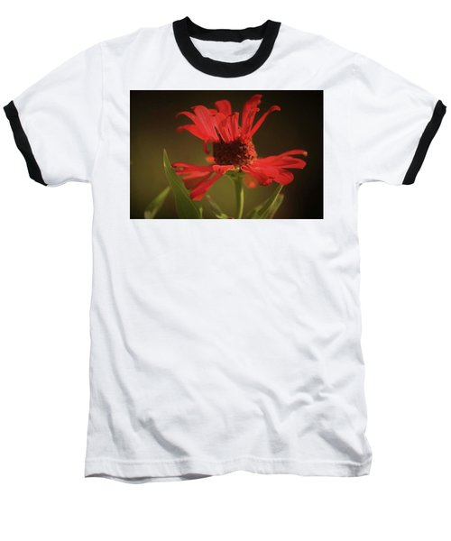 Baseball T-Shirt featuring the photograph Double Petals by Donna G Smith
