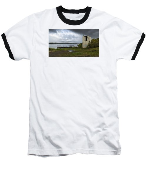 Baseball T-Shirt featuring the photograph Down By The River 01 by Kevin Chippindall