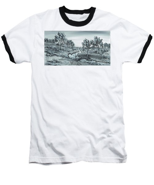 Down Stream Baseball T-Shirt